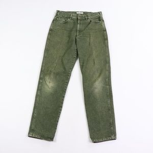 Vintage Dolce & Gabbana Distressed Jeans Green 34
